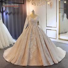 Vestido de novia abendkleider 2019, hermoso vestido de novia