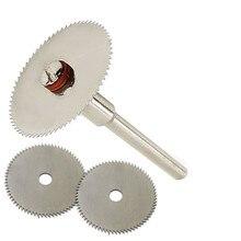 цена на 6pcs/set Wood Cutting Disc Dremel Rotary Tool Blade For Dremel Cutting Tools Woodworking Tool Cut Off Dremel Accessories