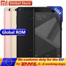 Оригинальный Xiaomi Redmi 4×3 ГБ 32 ГБ мобильного телефона Redmi 4 X Pro Смартфон Snapdragon s435 5.0″ отпечатков пальцев Глобальный Встроенная память