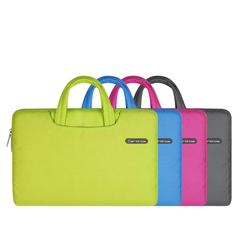 Cartinoe Brand Waterproof Laptop Bag Case for Apple Macbook Air Pro Retina 11 13 15 Men Women Notebook Bag 11.6 13.3 15.4 inch