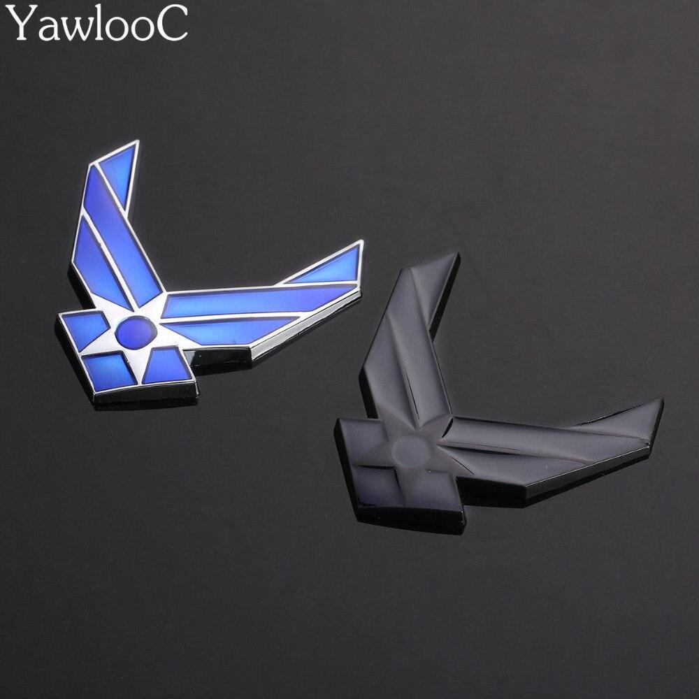 Автомобиль 3D USAF хромированный металлический эмблема рука знак Авто Мода декор логотип и установка наклейки на автомобиль стайлинга автомо...
