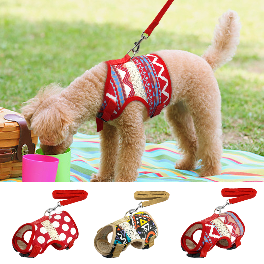 Aliexpress Buy Soft Printed Dog Harness And Leash