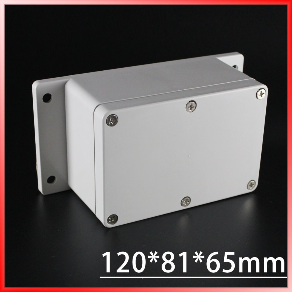 120*81*65mm Europe Style Gery Cover small plastic boxes use as terminal /Meter/Junction Enclosure Waterproof IP65