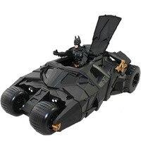 Darmowa wysyłka The Dark Knight BATMAN BATMOBIL Vehecle Suszarka CZARNY SAMOCHÓD Zabawki Figurka Kolekcja Model lalki #022