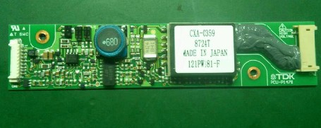 CXA-0359,PCU-P147B,121PW181-F Inverter cxa 0373 pcu p158b original tdk lcd inverter high voltage switchboard board