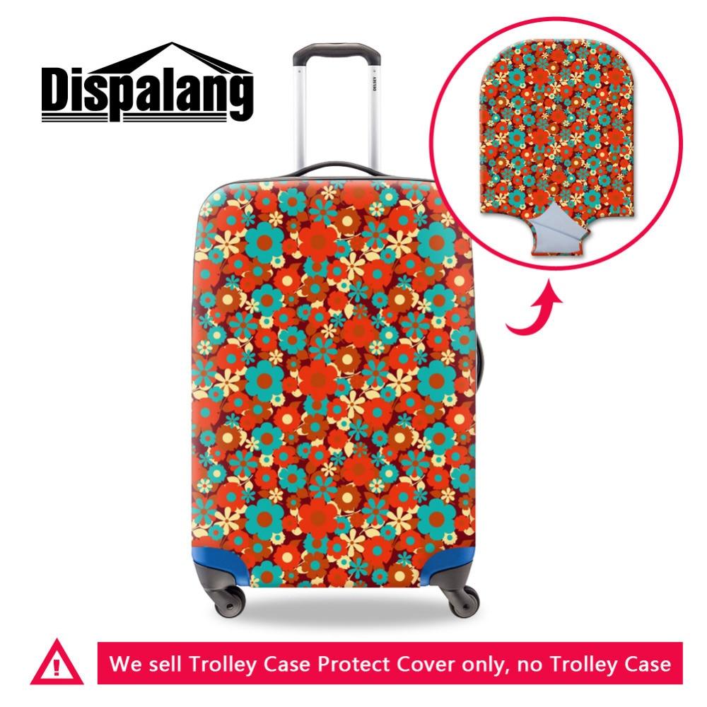 Moderan cvijet vodootporna prtljage zaštitna poklopac za putovanje 18-30 inčni kofer žene Djevojka Travel Dodaci Maletas De Viaje
