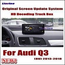 Liorlee Original Car Screen Update Decoder system For Audi Q3 (8U) 2013-2018 Parking Rear view Camera Carplay Interface Adapter include car reversing camera for audi a6 2016 mib2 interface adapter backup parking rear view camera connect original screen