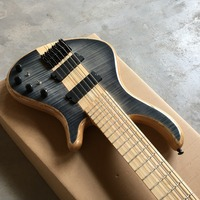 hot 6 string bass guitar. Good style. Good voice. Electric BAZZ Guitar Free shipping, real guitar photo
