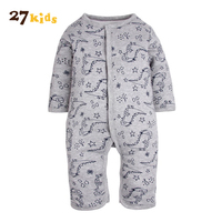 27 Kids Newborn Infant Romper Baby Boy Girl Cotton Long Sleeve Rompers One Pieces Toddler Clothes
