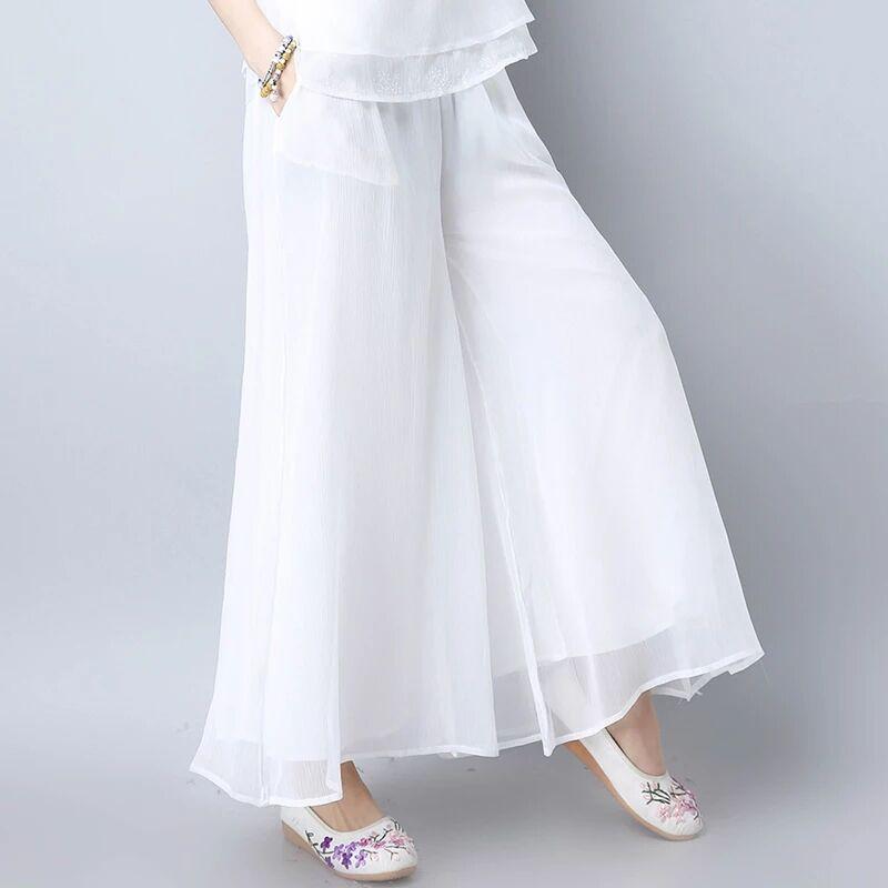 2019 women high waist overalls back   pants   mujer streetwear   capris   ladies wide leg trousers