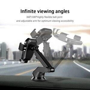 Image 4 - FDGAO Qi Caricabatteria Da Auto Senza Fili per il iphone 8 X XR XS Max 11 Pro Samsung S10 S9 S8 Nota 10 9 8 10W Veloce di Ricarica Supporto Del Supporto Del Telefono
