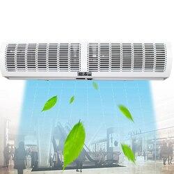 0,6-2,0 m Kommerziellen Luft Türen Fernbedienung Einstellbar Ständen Luft Vorhang Maschine Nano Spray Farbe Stumm Energiesparende geräuscharm