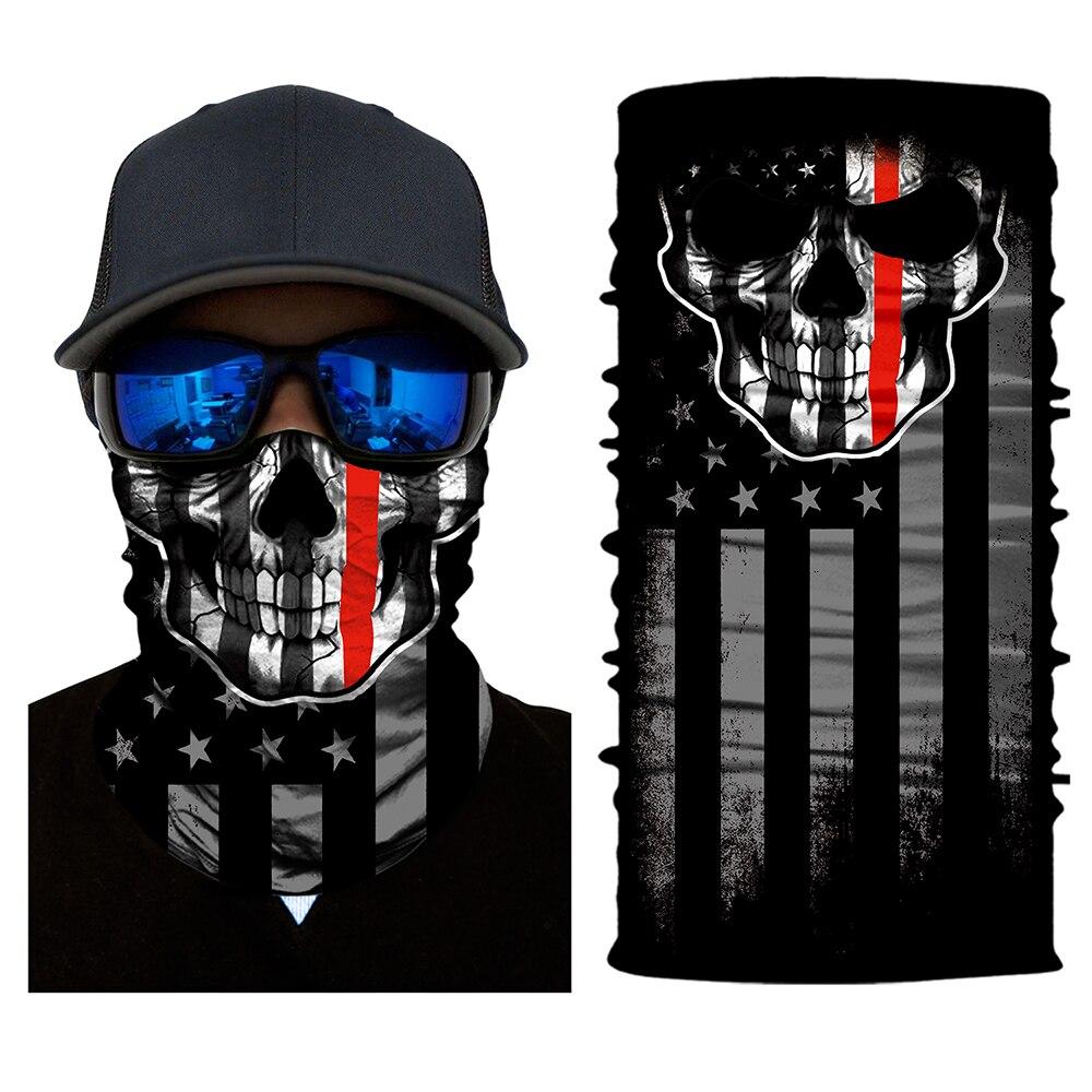 Multi Scarf Tube Mask Cap for Women and Men Neck Face Mask Motorcycle Bandana Stretchable Tubular Headband