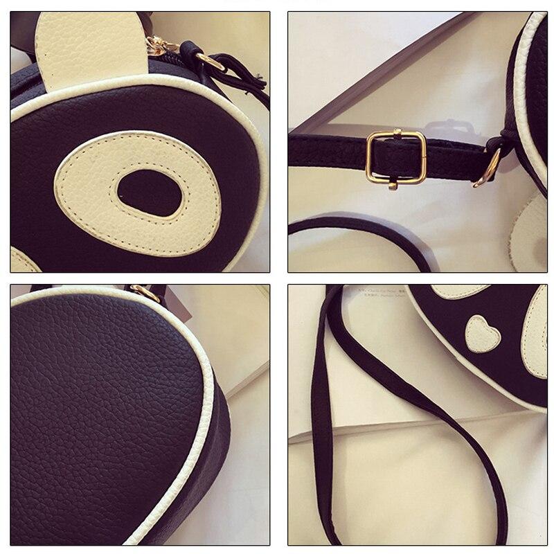 Keenici Creative Summer Mini Handbags For S Pu Leather Women Cartoon Animal Print Panda Bags Sweet Las Shoulder Bag Small In From