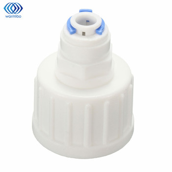 cnbtr black low pressure switch reverse osmosis tank 1 4 bsp inner thread Kitchen Water Filter Tap Connector Adaptor  Push Fit 3/4 Inch BSP To 1/4 Inch Reverse Osmosis RO White Watering Fitting Pipe