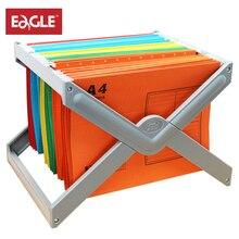 Металлический держатель для файлов, рамка A4/F4, подвесная подвеска, файлы, аксессуары для стола, держатель для документов, органайзер, Настольные Офисные принадлежности, 9351