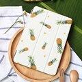 Case для ipad mini 4, ананас серии Tri-fold смарт обложка Ультра Тонкий Кожа PU Вернуться Case для iPad mini 4