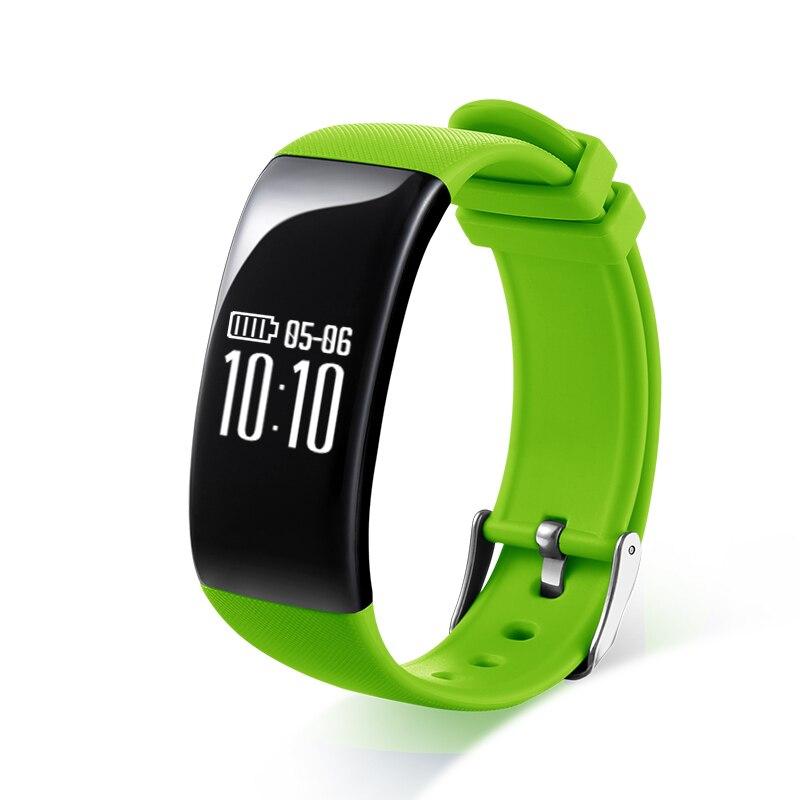 imágenes para Smartch X16 de Carga Inteligente Pulsera IP67 A Prueba de agua Deportes Muñequera Podómetro Monitor de Ritmo Cardíaco Reloj de la Aptitud Para Android iOS