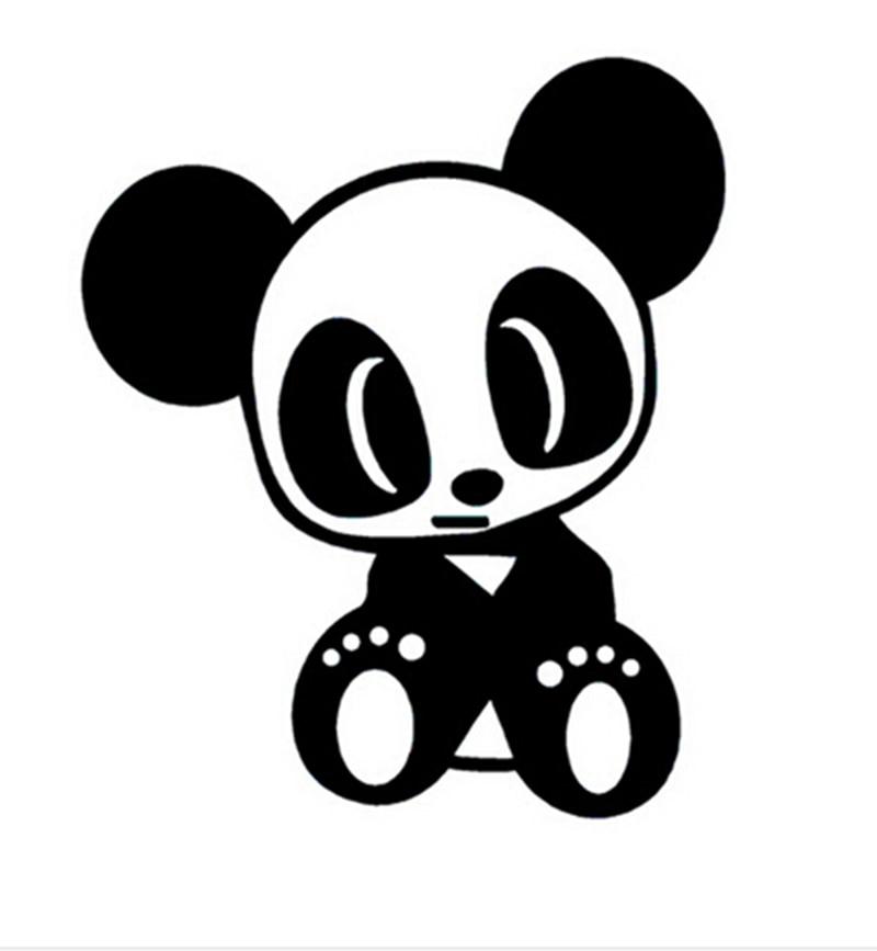 ᗛjdm Equipo Panda Etiqueta Vinilo Reflectante Calidad Superior