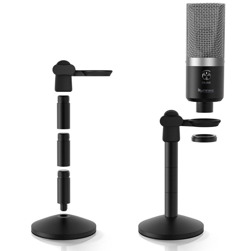 Microphone USB FIFINE pour ordinateur portable Mac et ordinateurs pour l'enregistrement de la voix en Streaming Twitch overs Podcasting pour Youtube Skype K670 - 3