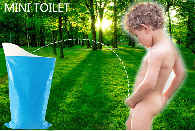 Emergercy Mini Toilet Urine Bag Vomit Pee Bags Camping Travel Urinal Toilet Disposable Traffic Jam Car Toilet for Women Children