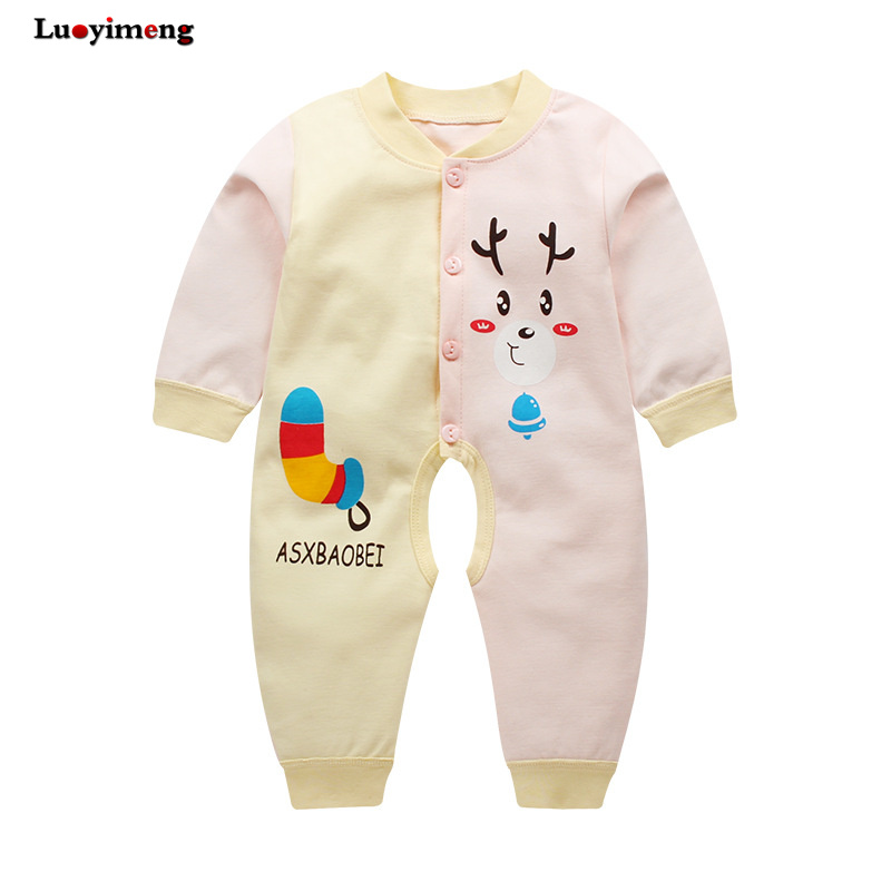 New Born Baby Clothes One Piece Onesies Babys Rompers Cartoon Anime
