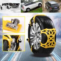 Vehemo With Wrench Winter Tire Chain Car Truck Mud Chain Outdoor Belt Wheel Strap