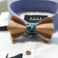 New Free Shipping fashion casual Fire series Men's MALE man Hand carving imported logs personality party wedding bow TIE