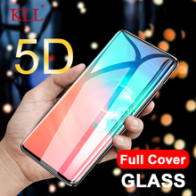 5D Curved Edge Full Cover Tempered Glass for Samsung Galaxy S10E Screen Protector Film Glue S10 Plus