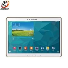 Original Samsung Galaxy Tab S T800 WIFI Tablet PC 10.5 inch 3GB RAM 16GB ROM Dual Camera Android 7900mAh PC Tablet Samsung