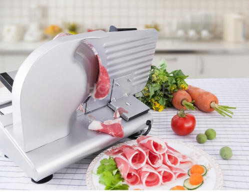 COMMERCIAL MEAT SLICER Electric Meat Cutter Sliceable Pork Frozen Meat Cutter Slicer Cutting Machine commercial slicer meat slicer electric meat slicer cut pork cut vegetables stainless steel diced machine automatic