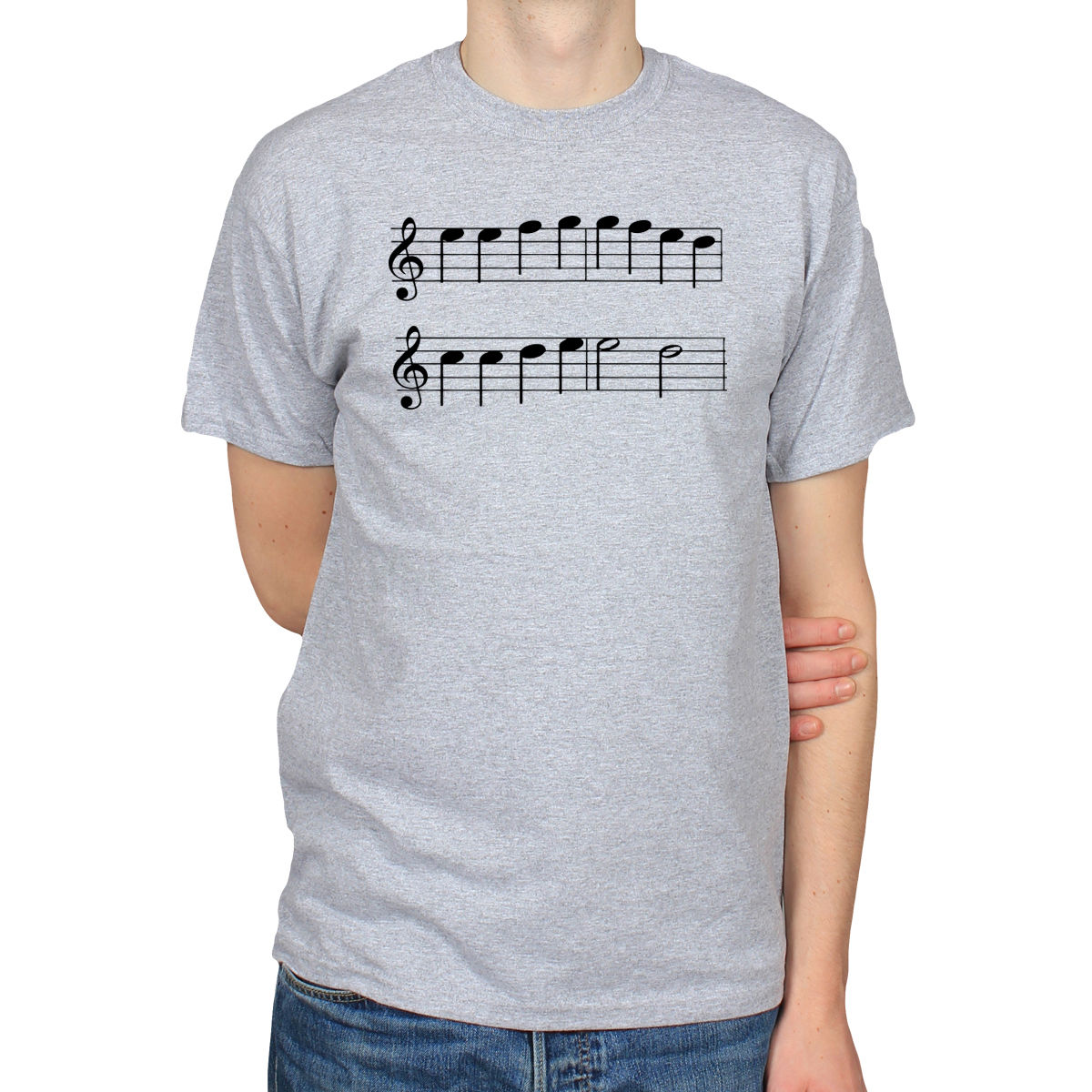 ODE TO JOY LUDWIG VAN BEETHOVEN CLASSICAL MUSIC MUSICAL NOTES MENS T-SHIRT  TEE Men S 8875cb6a9d30
