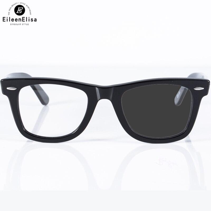 EE Acetate Frame with Prescription Lens 1 61 Photochromic Reading Glasses Men font b Women b