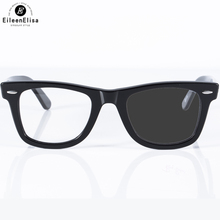 EE Acetate Frame with Prescription Lens 1.61 Photochromic Reading Glasses Men Women Classic Anti Glare UV400 Fashion Glasses