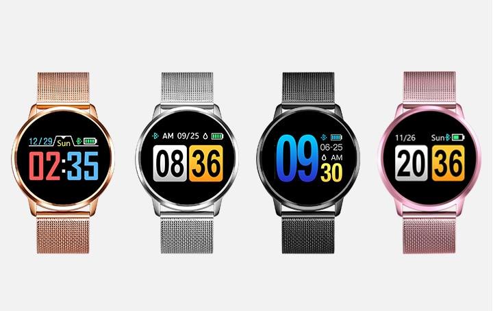 Q8 Montre intelligente OLED couleur 8