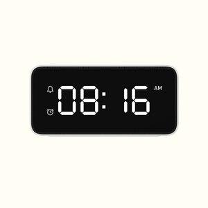 Image 5 - Original Xiaomi Xiaoai Smart Alarm Clock Voice Broadcast Clock ABS Table Dersktop Clocks AutomaticTime Calibration Mi Home App
