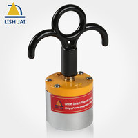 LISHUAI Super Powerful On Off Magnetic Hook Heavy Duty Neodymium Magnet Holder For Hanging MH 50