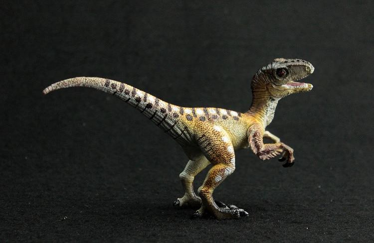 Jurassic Simulation Animal Model Dinosaur World Toys Gold Raptor Dragon Ball Dragon Special Edition Childrens Toy