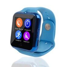 สมาร์ทบลูทูธนาฬิกาC88ซิงค์แจ้งเตือนสนับสนุนซิมการ์ดTFกล้องS Mart W AtchสำหรับIPhone IOS A Ndroidสำหรับซัมซุงโซนี่Xiaomi