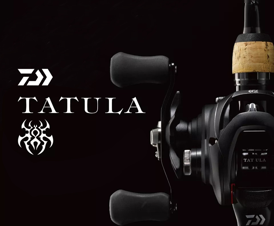 2019 DAIWA TATULA 100 150 200 Fishing reel Baitcasting Reel MAX DRAG 5kg/6kg low profile fishing reel Casting Reel 7BB + 1RB 8