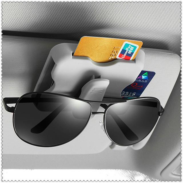 La visera de sol del coche organizador sol titular de la tarjeta de gafas Clip para Chevrolet Trailblazer Onix Tru Orlando código Captiva Aveo vela