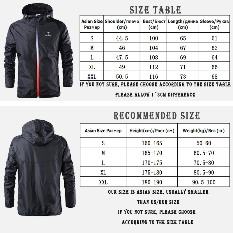 Mens Fashion Outerwear Windbreaker Thin Jackets Hooded Casual Sporting Coat 5