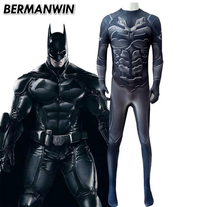Batman Suit: BERMANWIN High Quality Arkham Knight Batman Costume 3D