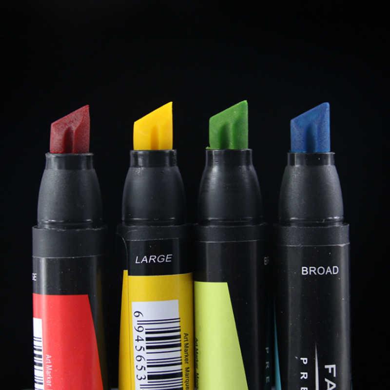 60 цветов Ручка для дизайна масляной двойной головы художественные Маркеры Набор двойной наконечник Графический Набор Эскиз широкий тонкий принадлежности для письма подарок