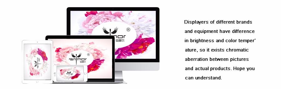 Anmor Professionnel 10 PCS Rose Or Ovale Maquillage Pinceaux extrêmement Souple Make Up Fondation Pinceau Poudre Kit avec Noir sac 10