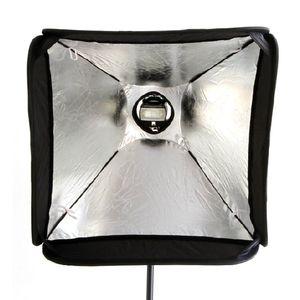 Image 3 - Godox سوفت بوكس 60x60 سنتيمتر الناشر عاكس ل Speedlite ضوء فلاش المهنية صور استوديو كاميرا فلاش صالح باوينز Elinchrom
