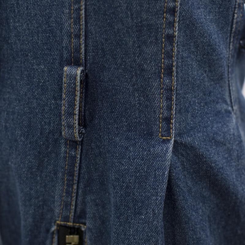 Suelto Denim fósforo Preventa Overoles Cremallera De Mujeres Alta Nueva Oloey Cintura 2019 Personalidad Summre Todo Botón Casual custom Q149 Blue Del Moda w6qx74TxdY