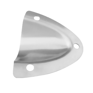 Image 3 - 2019 2 Pcs Marine Grade Stainless Steel Large Clam Shell Ventilator For Routing Cable Hose Wire Locker Vents Etc 2.17 x 2.24″