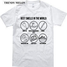 e6b76840 Trendy Melon Funny T shirt Men Best Smells In the World Cool Customized  Tshirt Casual Novelty