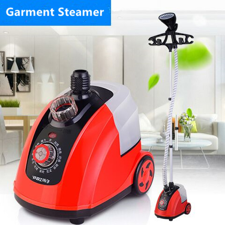 11 Gear Adjustable Garment Steamer 1800W Hanging Vertical Steam Iron Brush Home Handheld Garment Steamer Machine for clothes sphui garment steamer iron clothes steam iron cleaning machine handheld vertical clothes steamer brush clothing ironing tools